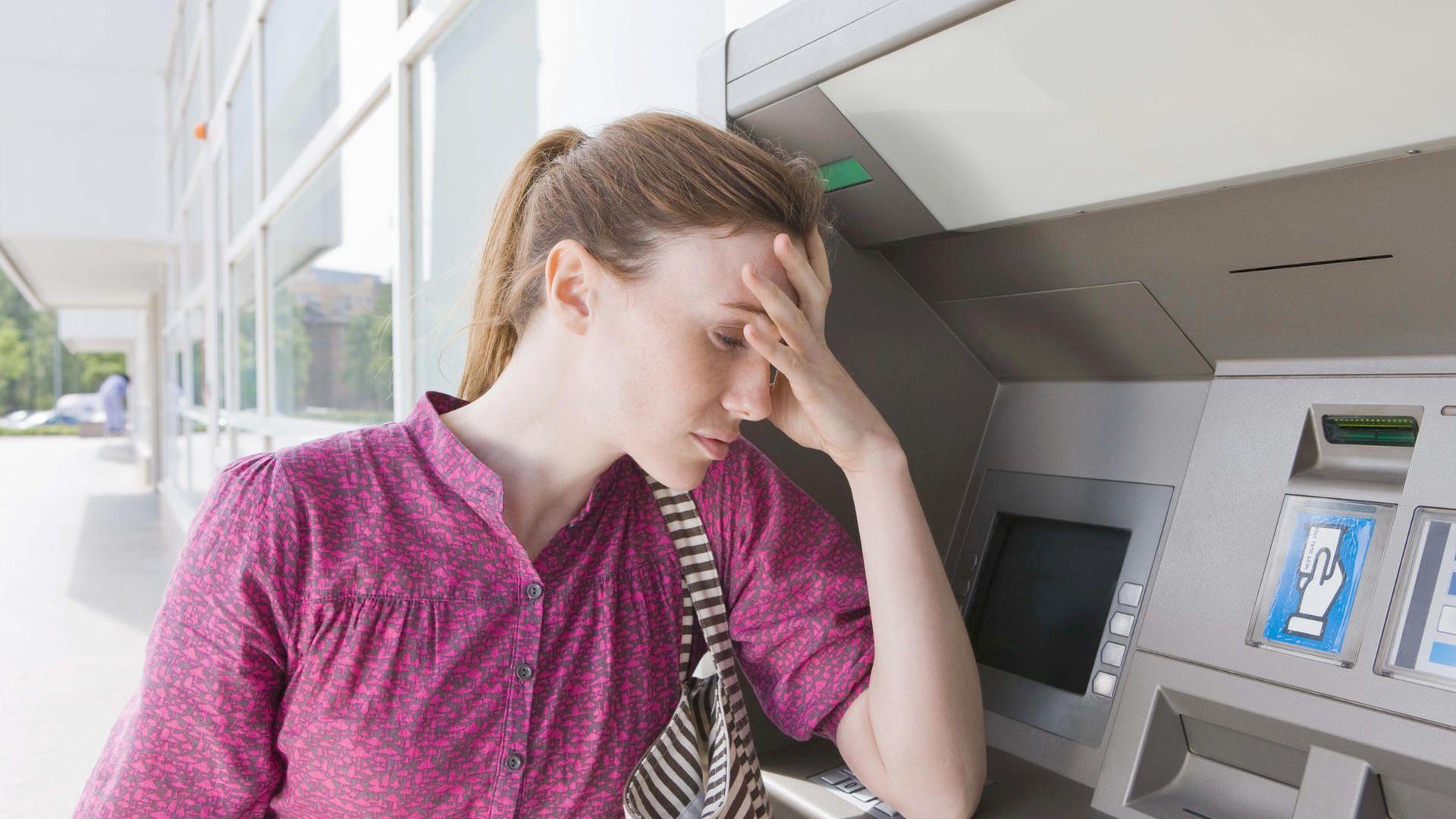 Банкомат не выдал деньги, но списал со счета